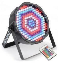 BEAMZ 151.284 FOCO PAR PLANO 186 LEDS RGBW