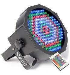 BEAMZ 151.226 FLAT PAR 154 LEDS RGB IR DMX
