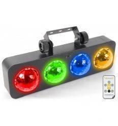 BEAMZ 153.720 DJ BANK 4X 3W LEDS RGBA