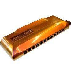 HOHNER CX 12 JAZZ C RED TO GOLD