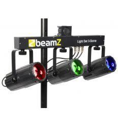 BEAMZ 153.738 3-SOME CONJUNTO RGBW LEDS