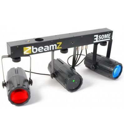 BEAMZ 153.735 3-SOME 2X56 + LASER
