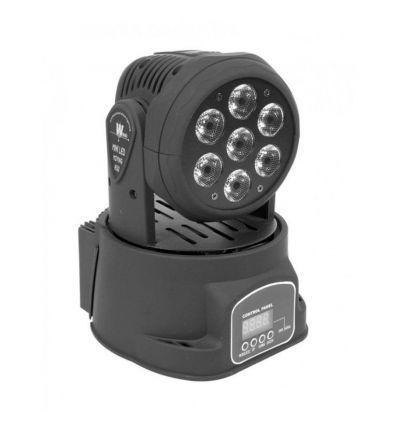 LIGHTSIDE MINI CABEZA MOVIL LED WASH 7X10W