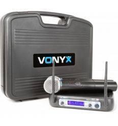 VONYX 179.226 WM512 VHF MICROFONO INALAMBRICO