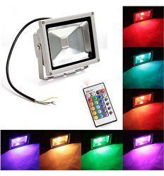 PRO-DJ PROYECTOR LED RGB IP65 PARA USO INTERIOR Y EXTERIOR 50W