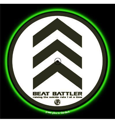 GLOWTRONICS DENON CD SLIPMATS BEAT BATTLER
