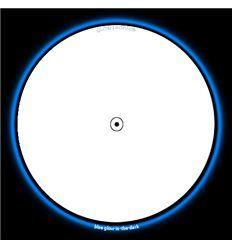GLOWTRONICS DENON 3700 SLIPMATS SNOW WHITE