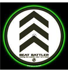 GLOWTRONICS DENON 3700 SLIPMATS BEAT BATTLER