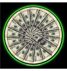 GLOWTRONICS DENON 3700 SLIPMATS MONEY MAT