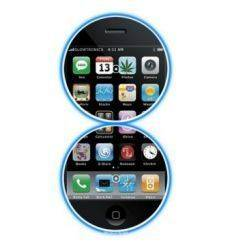 GLOWTRONICS DENON CD SLIPMATS I PHONE iPHONE