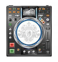 GLOWTRONICS DENON CD SLIPMATS KING SKULL