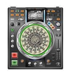 GLOWTRONICS DENON CD SLIPMATS MONEY MAT