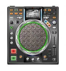 GLOWTRONICS DENON CD SLIPMATS DIAMOND PLATE