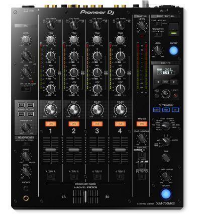 PIONEER DJM-750MK2 DJM750 MK2 mejor mezclador dj club profesional 4 cuatro canales