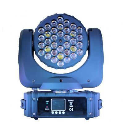 PRO-DJ CABEZA MOVIL LED RGBW BEAM 108W DMX (usada)