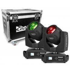 BEAMZ 150.400 SET PAREJA TIGER 7R + FLIGHTCASE