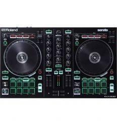 ROLAND DJ-202 dj202 controlador midi serato dj lite economico barato iniciacion