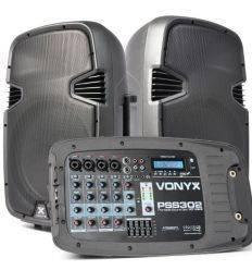 VONYX 170.118 PSS302 SET PORTATIL SD/USB/MP3/BT