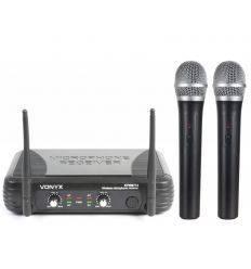 VONYX 179.183 STWM712 MICROFONO VHF DOBLE
