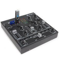 SKYTEC 172.979 STM-2250 MEZCLADOR USB EFECTOS