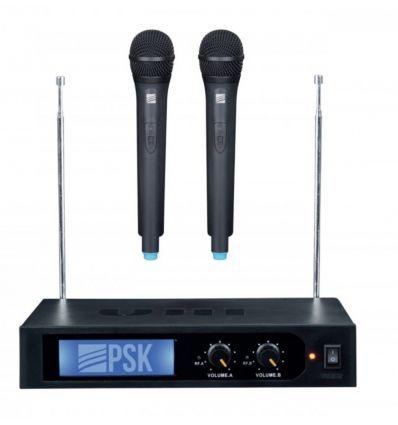 PSK KMS-2 DOBLE MICROFONO VHF