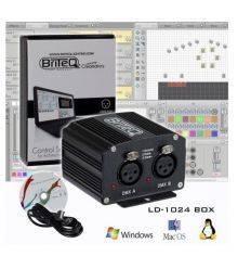 BRITEQLD-1024BOX INTERFACE DMX