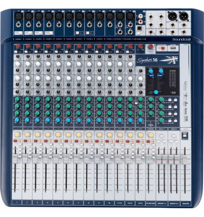SOUNDCRAFT SIGNATURE 16 review