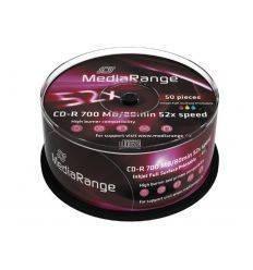 MEDIARANGE CD-R AUDIO 52X 700M IMPRIMIBLES TINTA