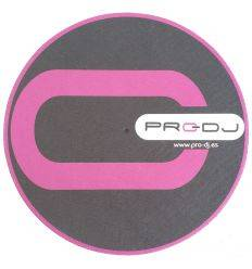 PRO-DJ SLIPMATS PRO-DJ BLACK