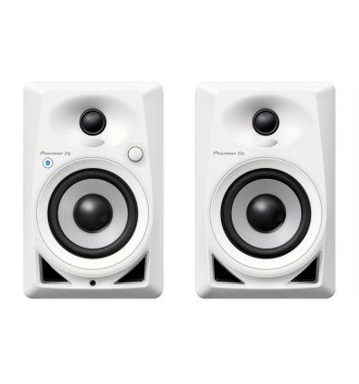PIONEER DM-40BT-W dm40bt dm40 bt monitores blancos white estudio dj pinchar baratos economicos comprar blueetoth