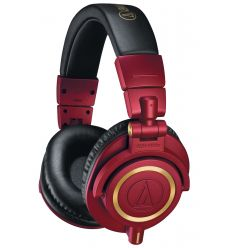 AUDIO-TECHNICA ATH-M50X ROJO características precio review