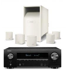 DENON AVR-X1500 + BOSE ACOUSTIMASS 6V BLANCO características precio