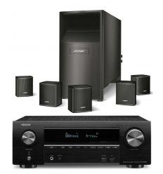 DENON AVR-X1500 + BOSE ACOUSTIMASS 6V NEGRO características precio