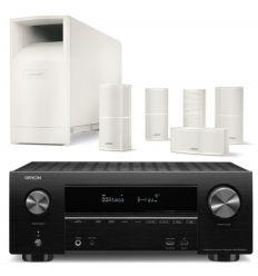 DENON AVR-X2500 + BOSE ACOUSTIMASS 10V BLANCO características precio