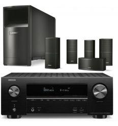 DENON AVR-X2500 + BOSE ACOUSTIMASS 10V NEGRO características precio