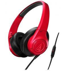 AUDIO TECHNICA SONIC FUEL ATH-AX3iS ROJO