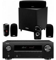 DENON SISTEMA AVR-X550 BT+ POLK TL1600 precio características