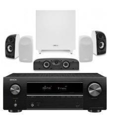 DENON SISTEMA AVR-X550 BT+ POLK TL1700 características precio