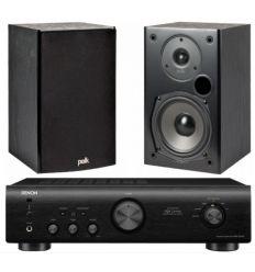 DENON PMA-520 BK+POLK T15 precio características
