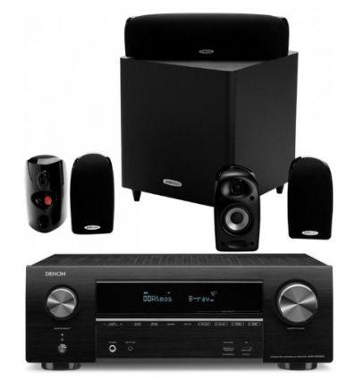 DENON SISTEMA AVR-X1500 BT+ POLK TL1600 precio características