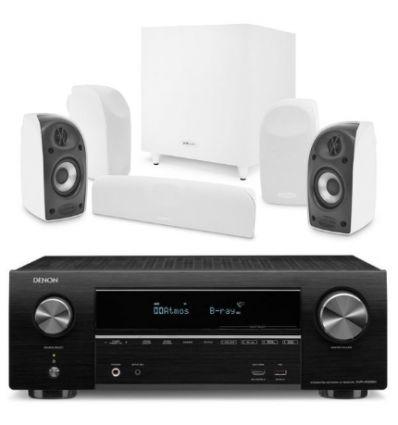 DENON SISTEMA AVR-X1500 BT+ POLK TL1700 características precio