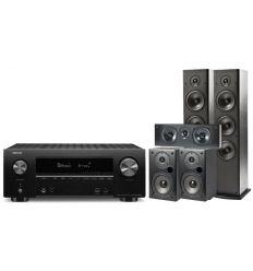 DENON AVR-X1500+ POLK T50+T30+T15 precio características