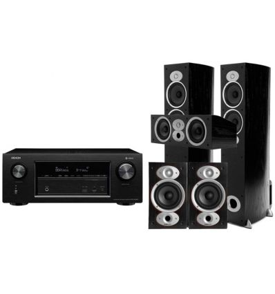 DENON AVR-X4500+ POLK RTI A5+CSI A4+RTI A1 precio características