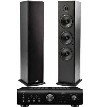 DENON PMA-800+POLK T-50 características precio