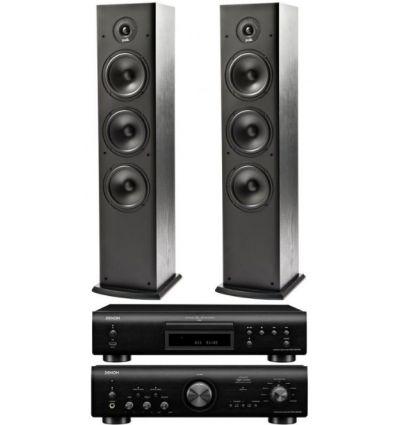 DENON PMA-800+DCD 800+POLK T-50 precio características