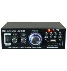 SKYTEC 103.142 AMPLIFICADOR FM/USB/SD