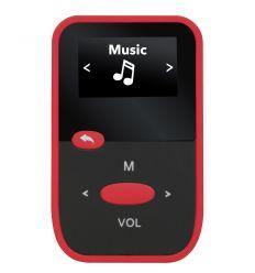 SYTECH SY7316RJ REPRODUCTOR MP3/GRABADOR CON RADIO Y MICRO-SD ROJO características precio