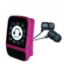 SYTECH SY788R REPRODUCTOR MP4 CON RADIO Y PODOMETRO 8GB ROSA características precio