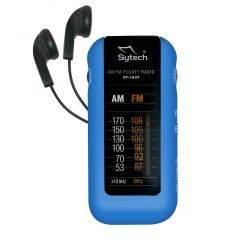 SYTECH SY1637AZ RADIO DE BOLSILLO AZUL características precio