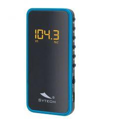 SYTECH SY1639AZ RADIO FM CON BATERIA AZUL características precio